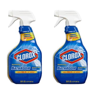 30 oz. Disinfecting Bleach Free Bathroom Cleaner (2-Pack)