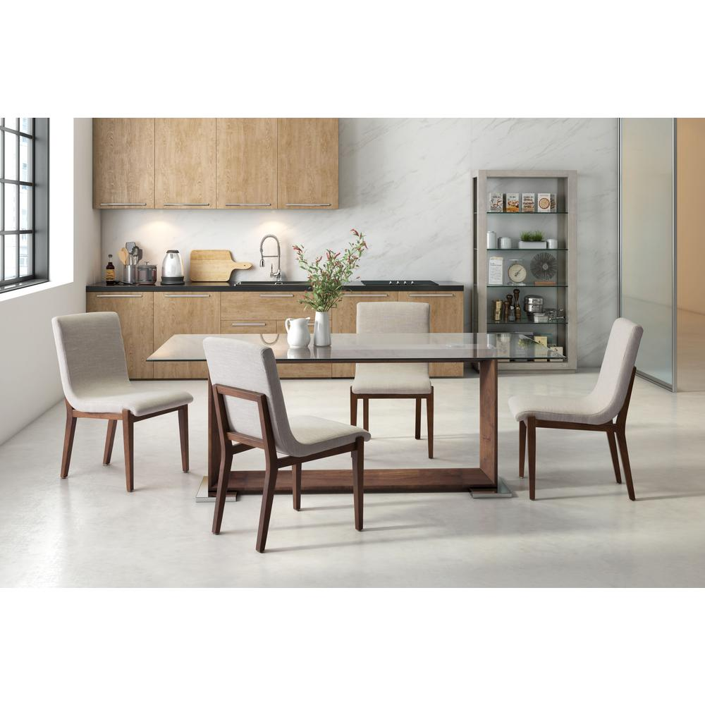 ZUO Hamilton Beige Dining Chair Set Of 2
