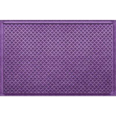 Gems Purple 24 in x 36 in Polypropylene Door Mat