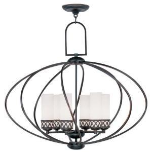 Livex Lighting Providence 6-Light Olde Bronze Incandescent Ceiling Chandelier-4726-67 - The Home Depot  sc 1 st  Home Depot & Livex Lighting Providence 6-Light Olde Bronze Incandescent Ceiling ... azcodes.com