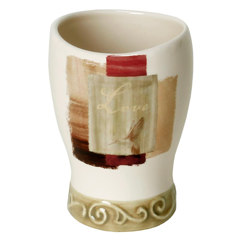 Inspire Freestanding Tumbler in Parchment