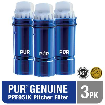 Ultimate Lead Reducing Replacement Filter for Pitchers (3-Pack)