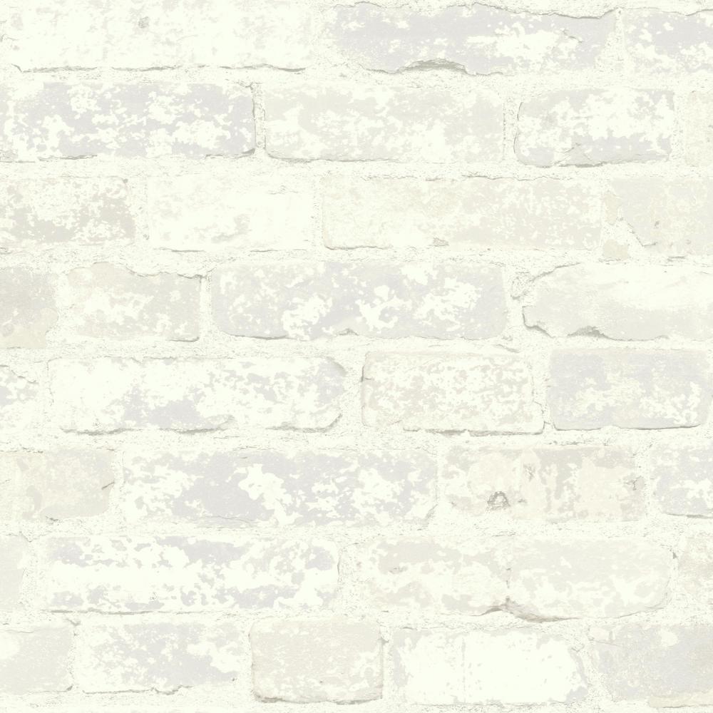 York Wallcoverings Stuccoed Brick Wallpaper LG1480