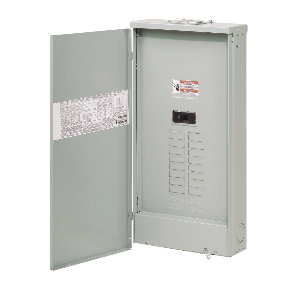 200 Amp 20-Space 40-Circuit BR Type NEMA 3R Main Breaker Load