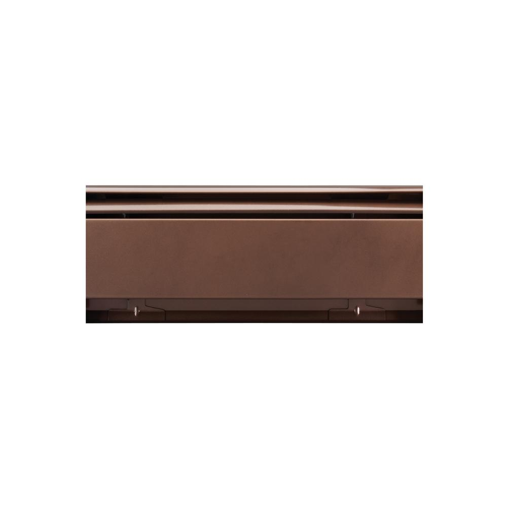 Fine/Line 30 Decor Series 3 ft. Heating Enclosure Baseboard in Rubbed