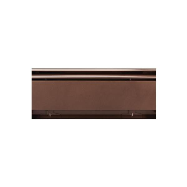 Fine/Line 30 Decor Series 5 ft. Hydronic Baseboard Enclosure Only in Rubbed Bronze