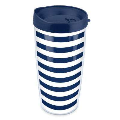 Stripes 16 oz. Tumbler in Navy