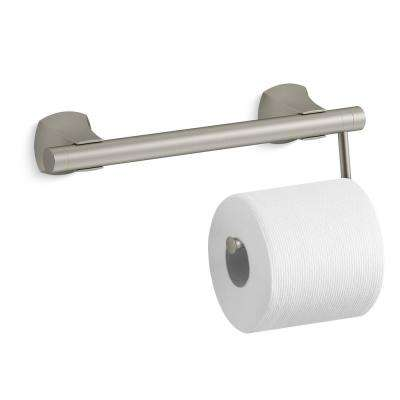 Toilet Tissue Holder Accessory in Vibrant Brushed Nickel