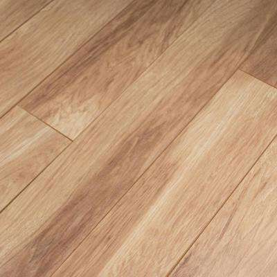 Shefton Hickory Laminate Flooring - 5 in. x 7 in. Take Home Sample