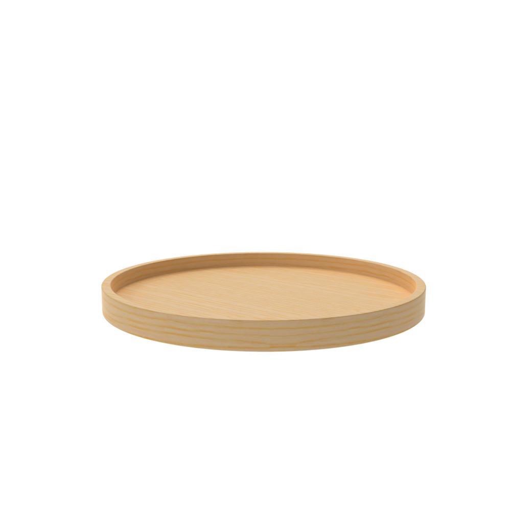Rev A Shelf 2.38 in. H x 20 in. W x 20 in. D Wood Full Circle Lazy Susan Single Shelf with Swivel Bearing