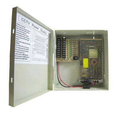 9-Port 12 Amp CCTV Power Supply Box