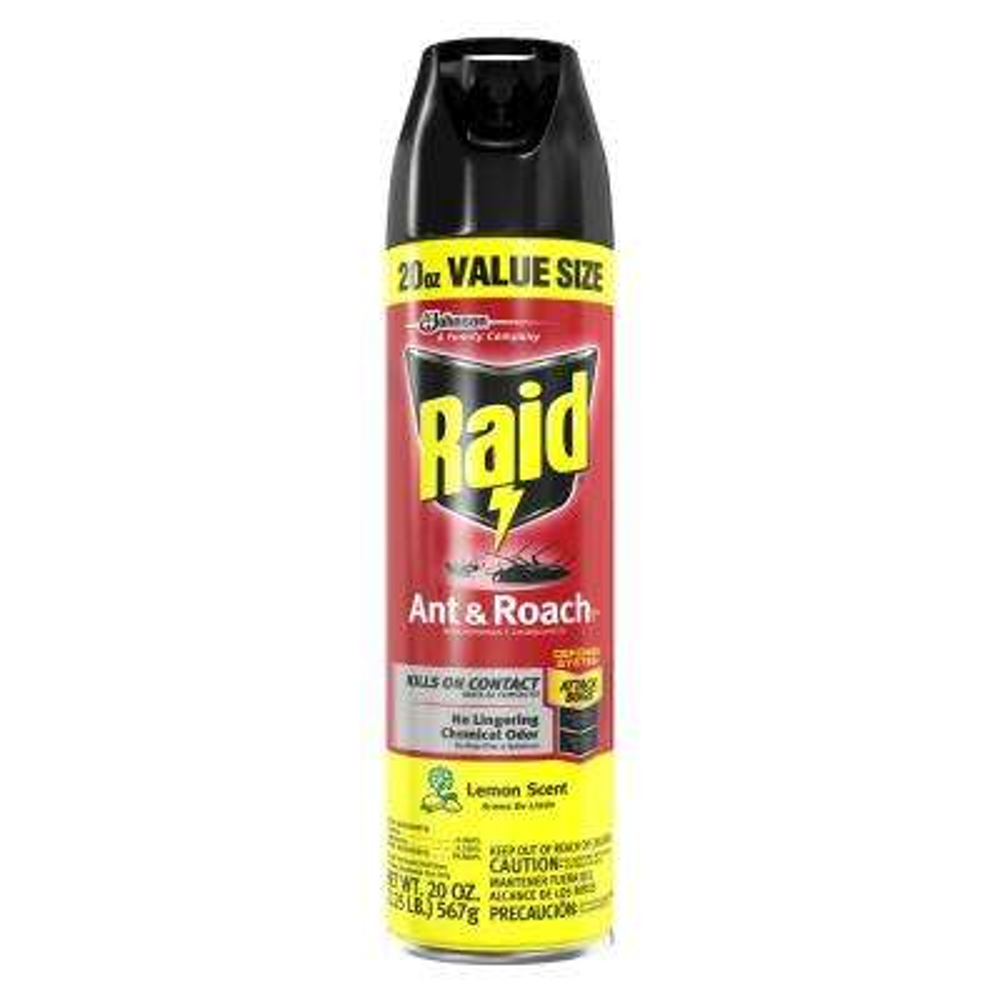 20 oz. Value Size Lemon Scent Ant and Roach Killer