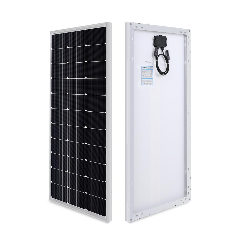 100-Watt 12-Volt Monocrystalline Solar Panel Compact Design