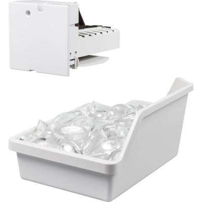 4 Lbs. Ice Maker Kit for GE Top Mount Refrigerators with LED lighting