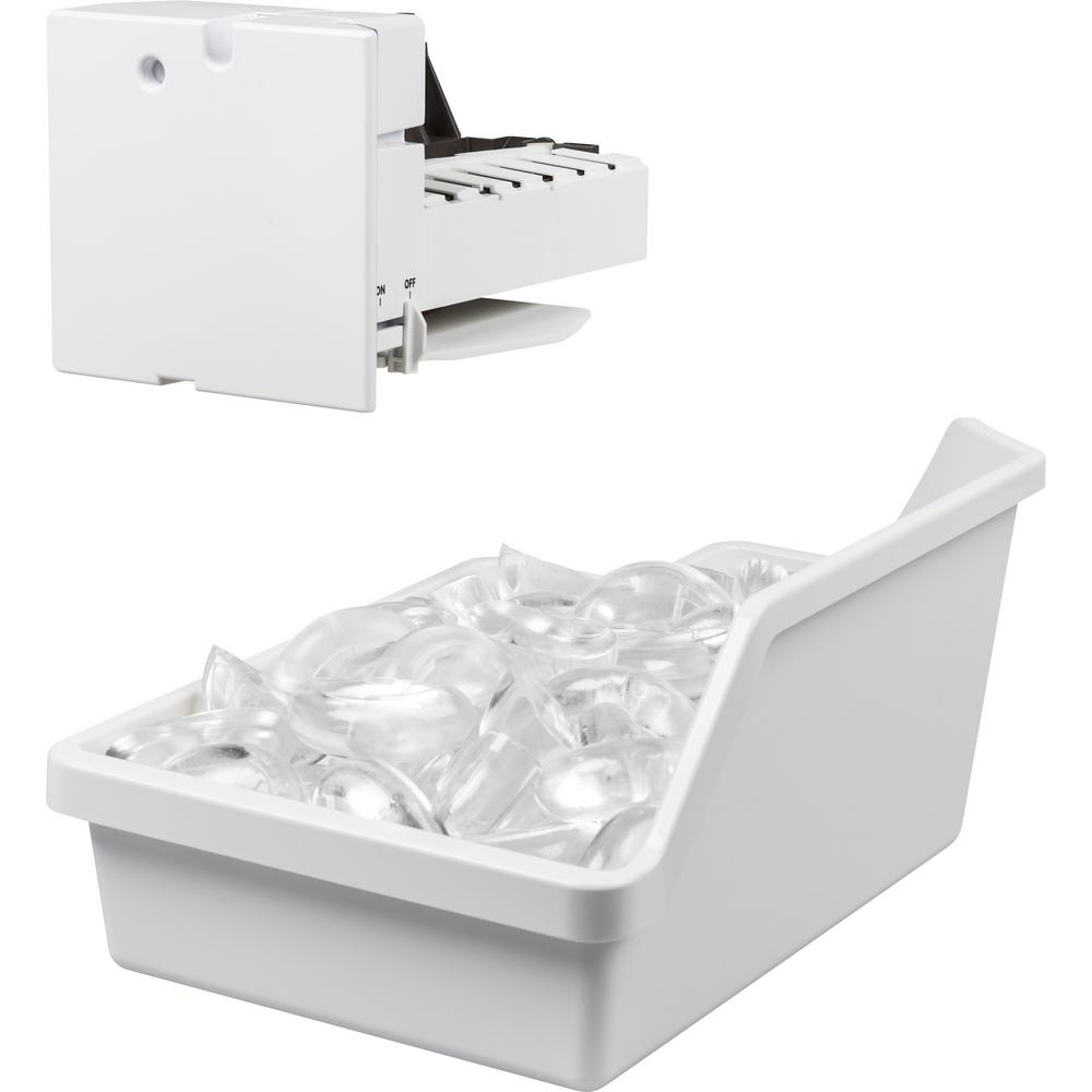 GE 4 Lbs. Ice Maker Kit for GE Top Mount Refrigerators with LED lighting