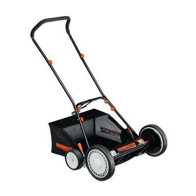 18 in. Walk-Behind Nonelectric Reel Mower with Bagger