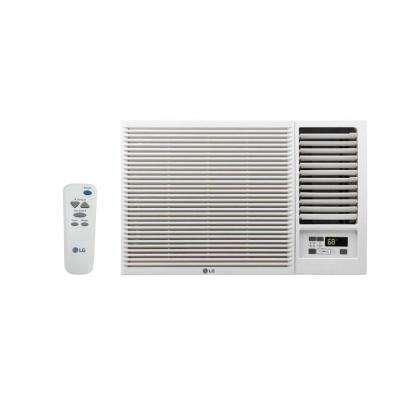 7,500 BTU 115-Volt Window Air Conditioner with Cool, Heat and Remote