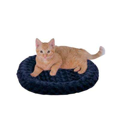 Thermo-Kitty Fashion Splash Small Blue Heated Cat Bed