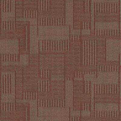 Royce Zone Loop 24 in. x 24 in. Carpet Tile (18 Tiles/Case)