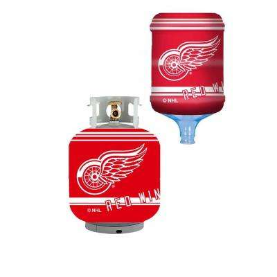 Detroit Redwings Propane Tank Cover/5 Gal. Water Cooler Cover