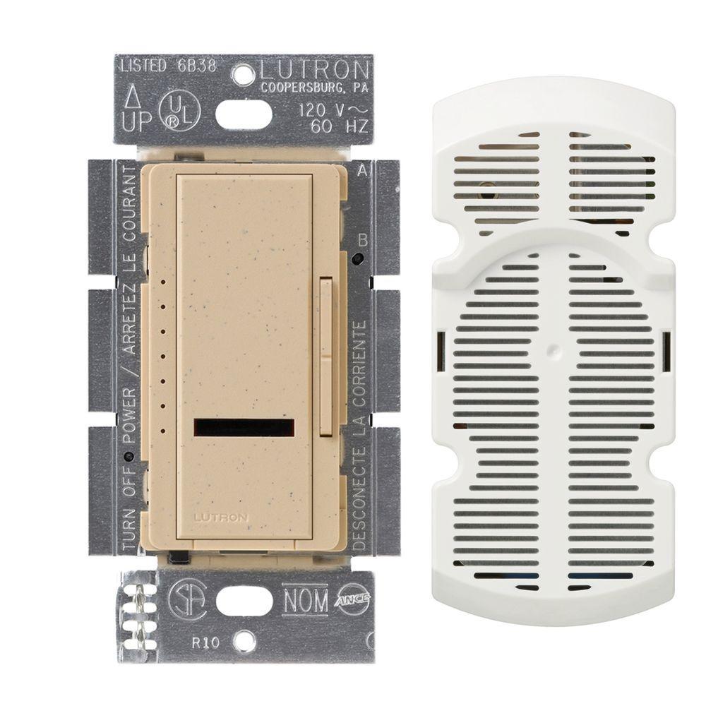 Maestro IR Multi-Location 7-Speed Digital Fan Control - Desert Stone