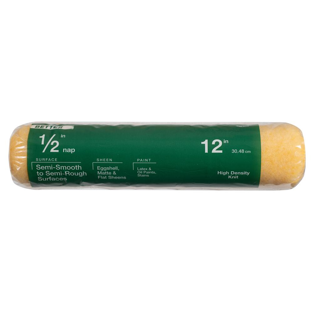 12 in. x 1/2 in. High-Density Polyester Knit Paint Roller Cover
