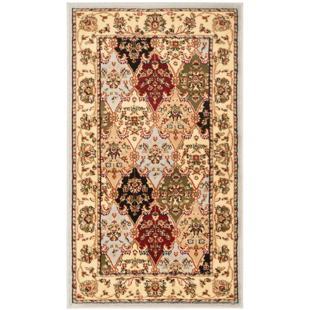 Safavieh Lyndhurst Gray/Multi 2 ft. 3 in. x 6 ft. Runner
