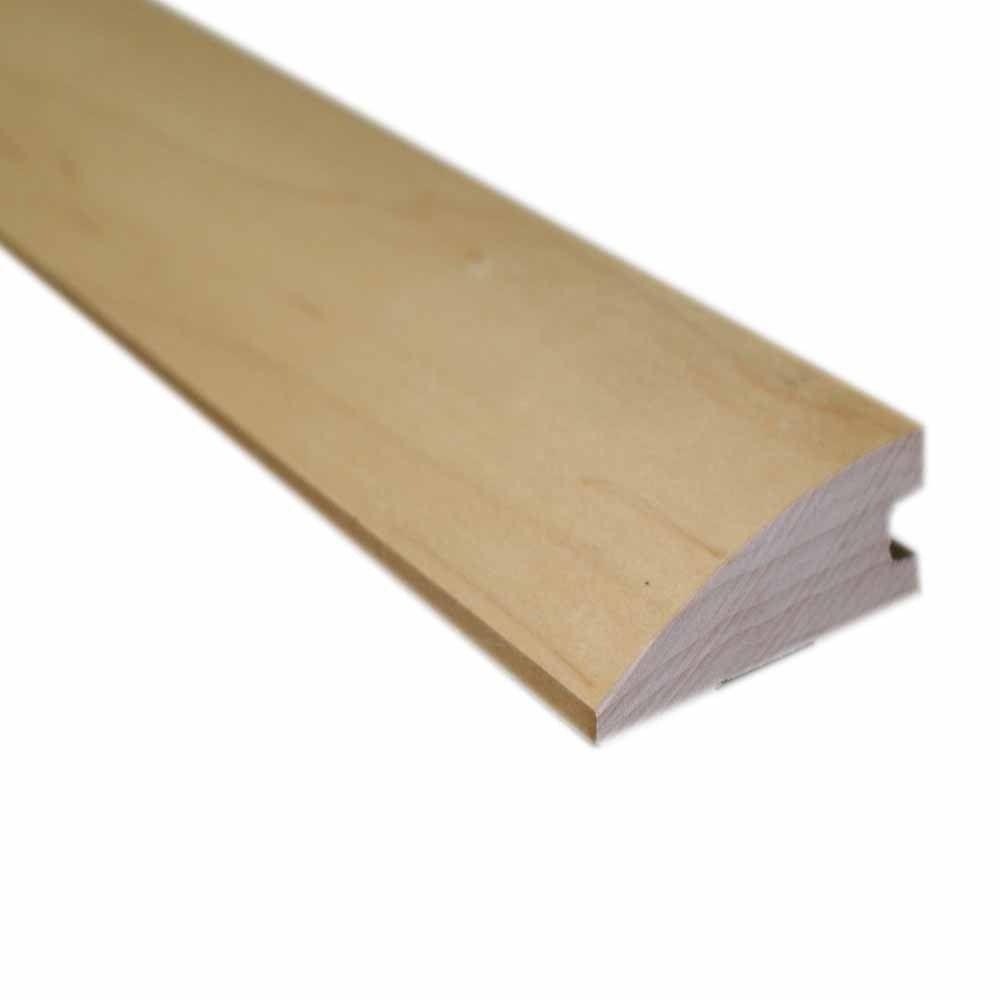 Millstead Unfinished Maple 1/2 in. Thick x 1-3/4 in. Wide x 78 in. Length Hardwood Flush-Mount Reducer Molding