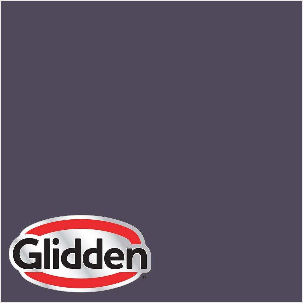 Glidden Premium 8 oz. #HDGV52 Black Tulip Eggshell Interior Paint Sample, Purples/Lavenders
