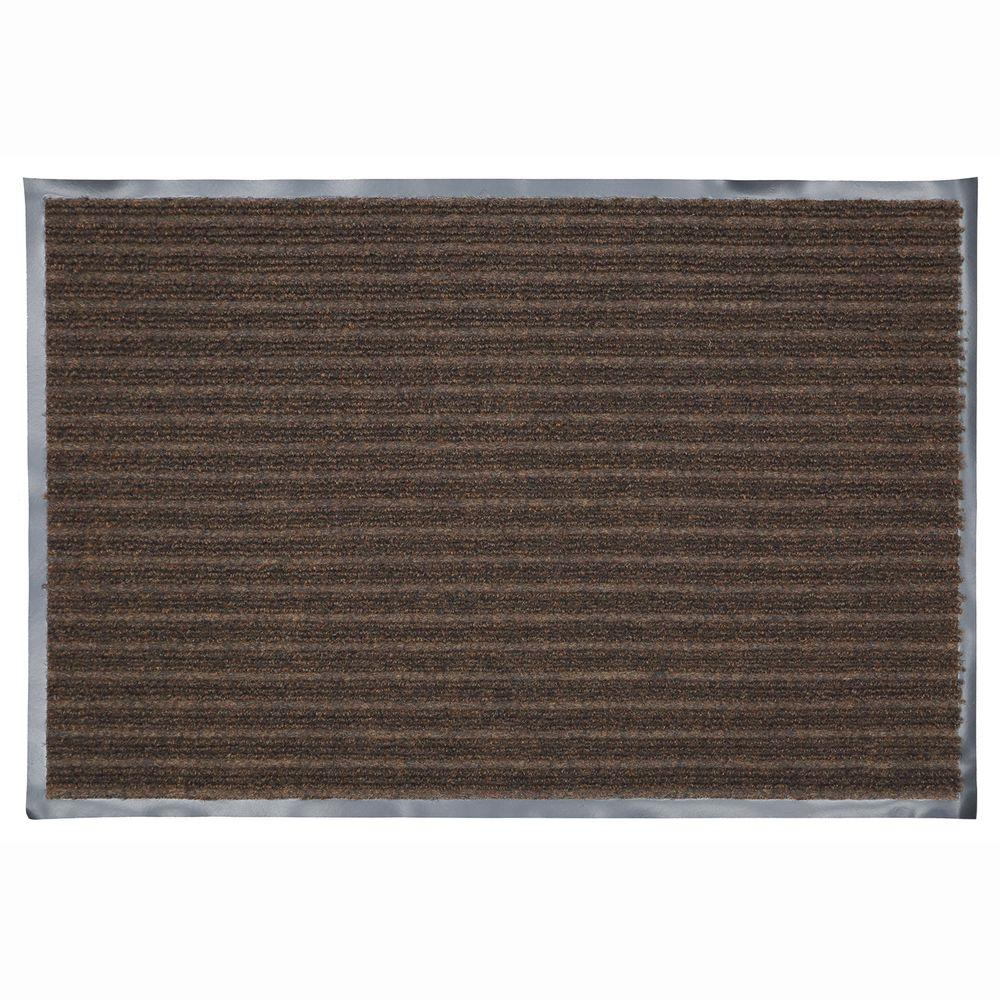 36 in. x 48 in. Chocolate Commercial Door Mat