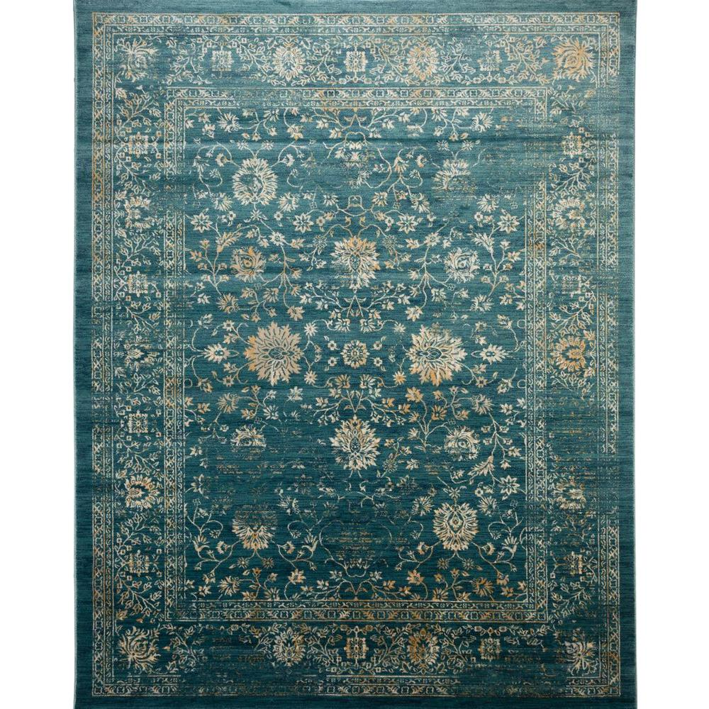Safavieh Evoke Light Blue Beige 8 Ft X 10 Ft Area Rug