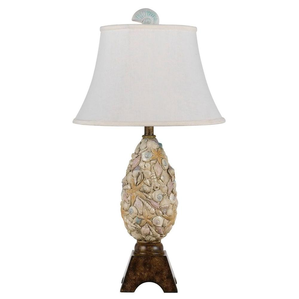 Cal lighting 30 in pearl white coastal table lamp bo 2475tb the pearl white coastal table lamp aloadofball Image collections