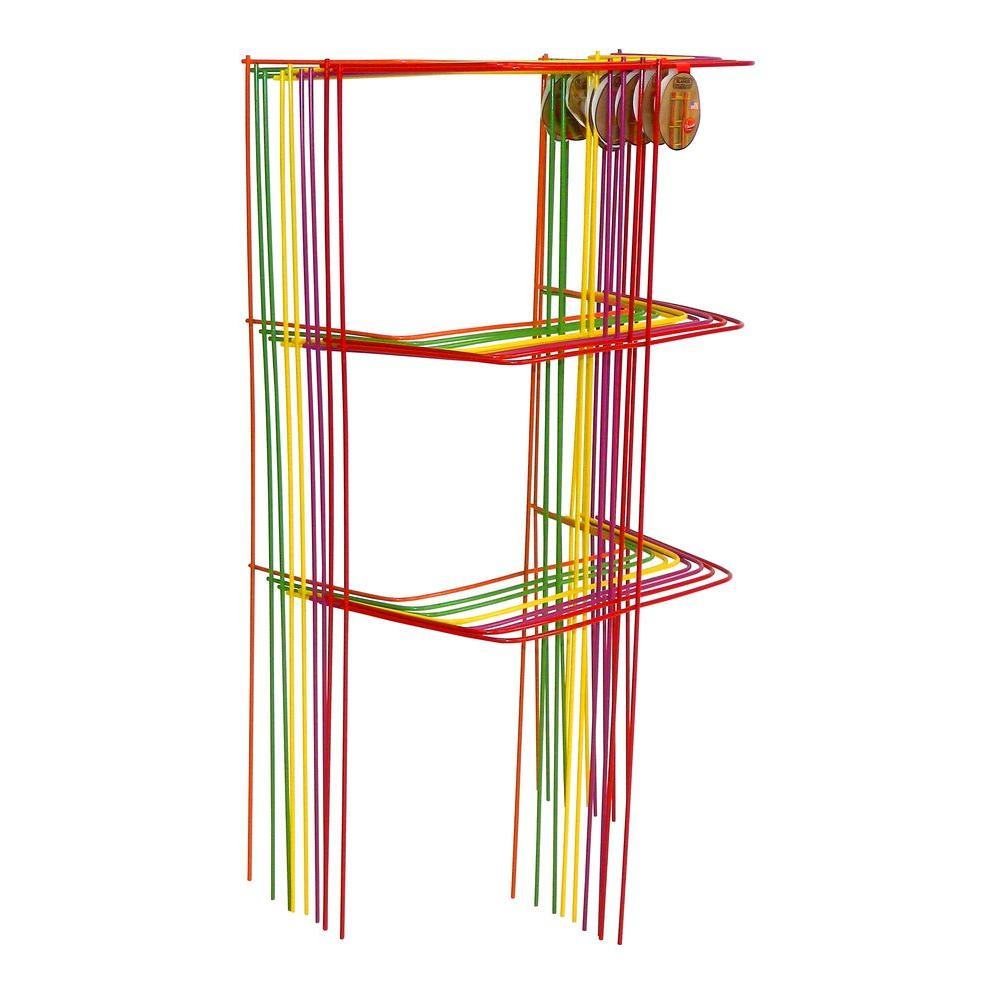 Glamos Wire Products 46 in. Sectional Garden Cage Plant Support ...