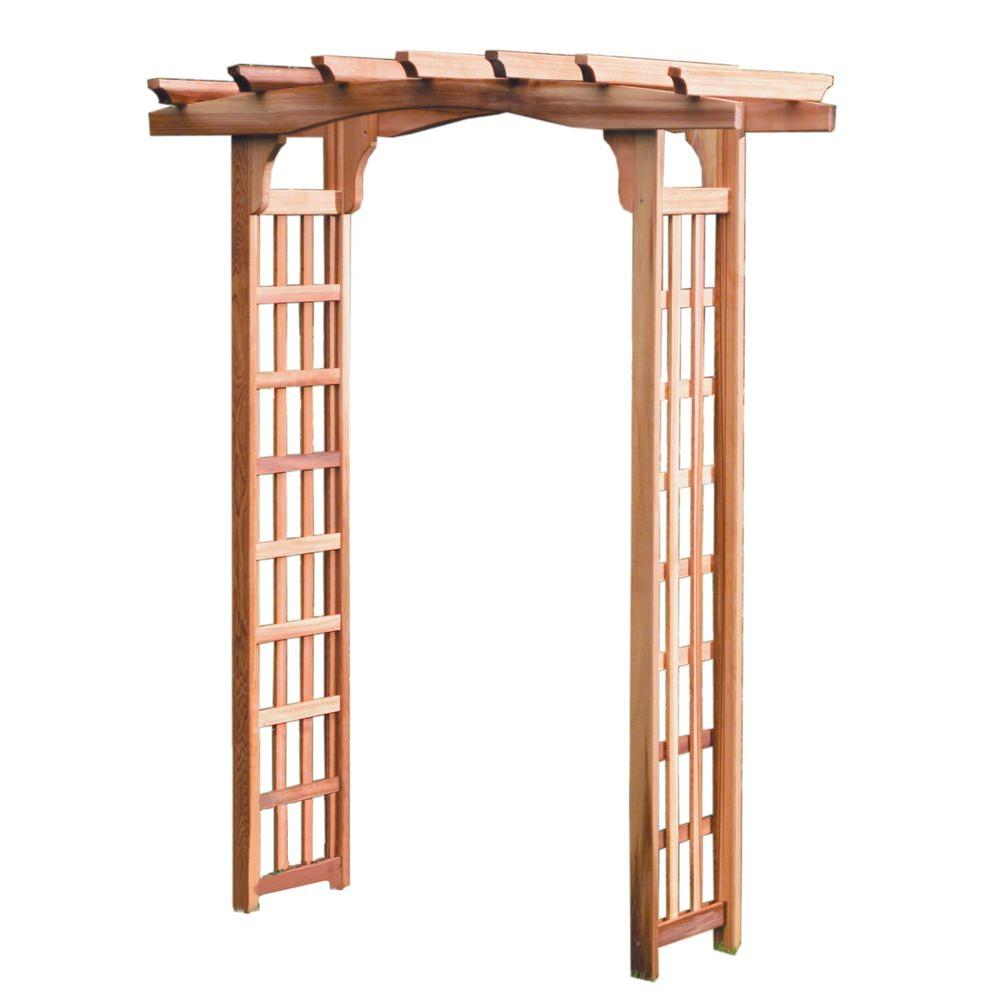 Arboria Astoria 82 in. x 64 in. Outside Cedar Arbor