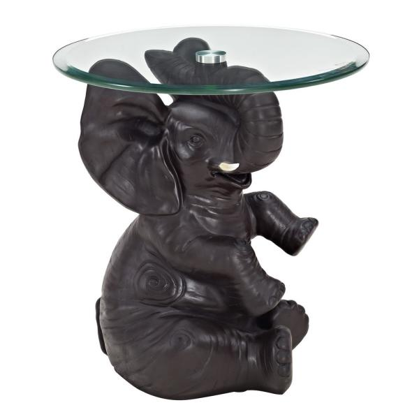 35c2bae90 Powell Company Ernie Elephant Side Table-Ships in 2 Cartons 16C2001 - The  Home Depot