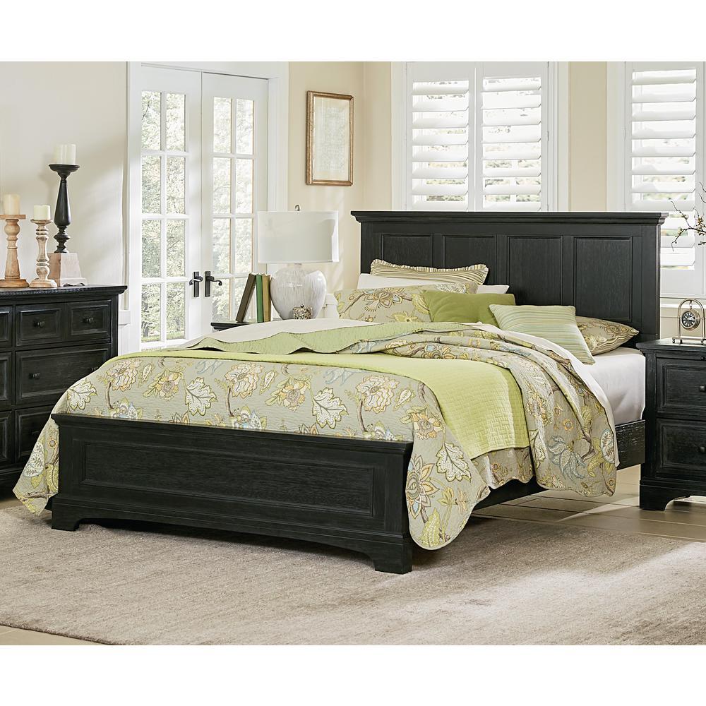 Osp Home Furnishings Farmhouse Basics King Bedroom Set With 2