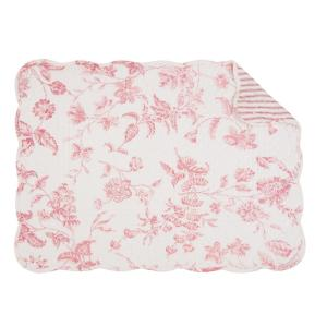 C & F Home Pink Lydia Quilted Placemat (Set of 6) by C & F Home