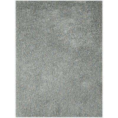Peitrek Sky Blue 8 ft. x 11 ft. Rectangle Area Rug