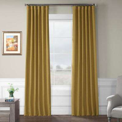 Unlined - Gold - Curtains & Drapes - Window Treatments - The