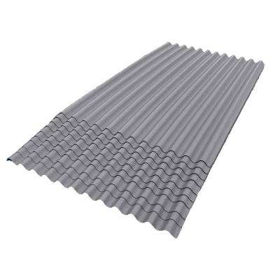 6 ft. 7 in. x 4 ft. Asphalt Corrugated Roof Panel in Gray (10-Pack)
