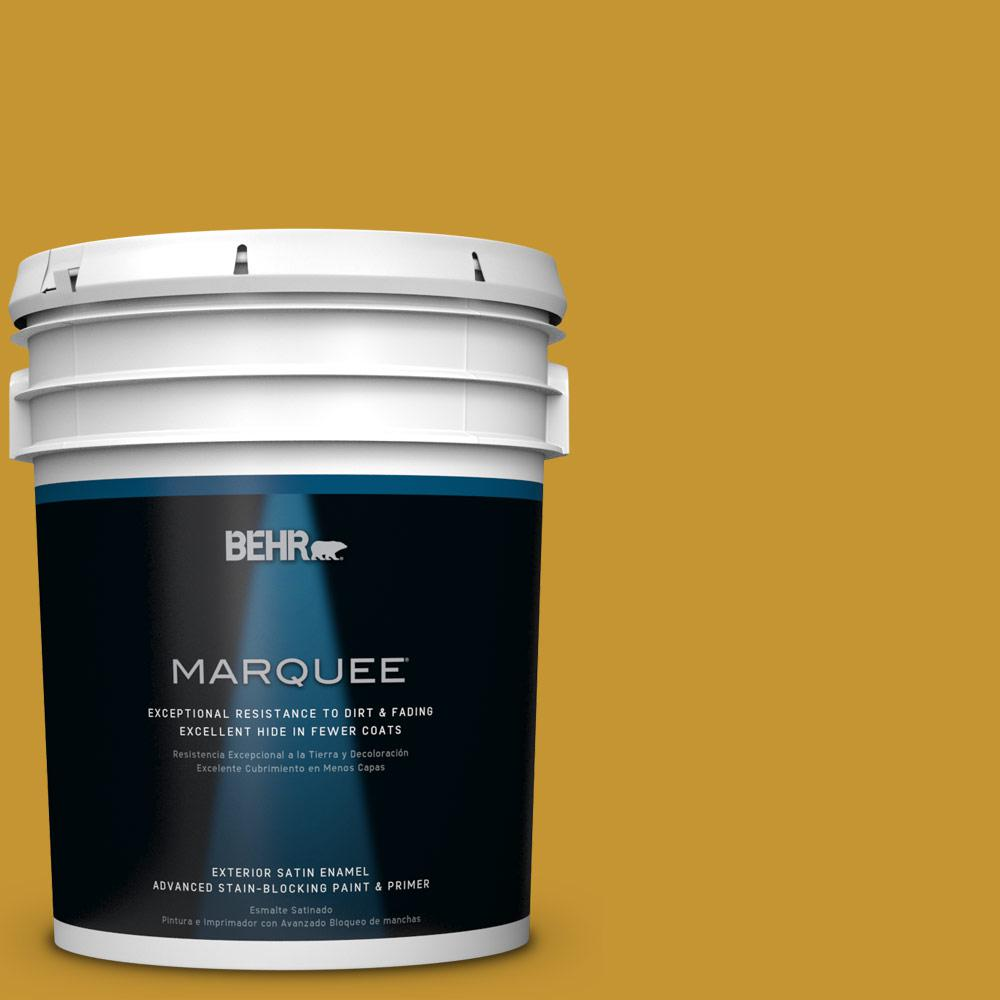 BEHR MARQUEE 5-gal. #S-H-360 Leisure Satin Enamel Exterior Paint