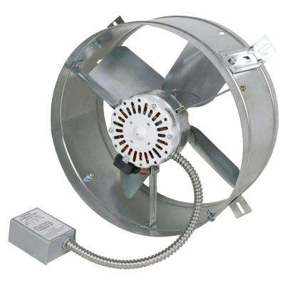 Cool Attic 1600 CFM Power Gable Mount Attic Vent