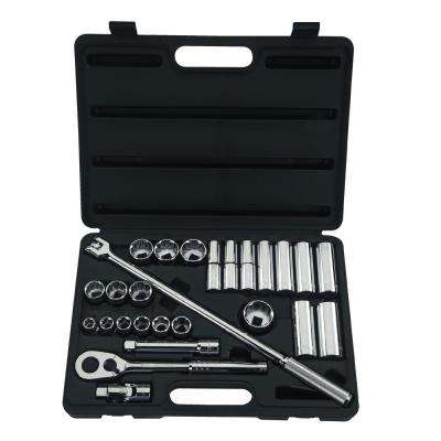 1/2 in. Drive Socket Set (26-Piece)