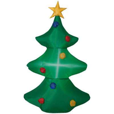 3.51 ft. Pre-lit Inflatable Christmas Tree Airblown