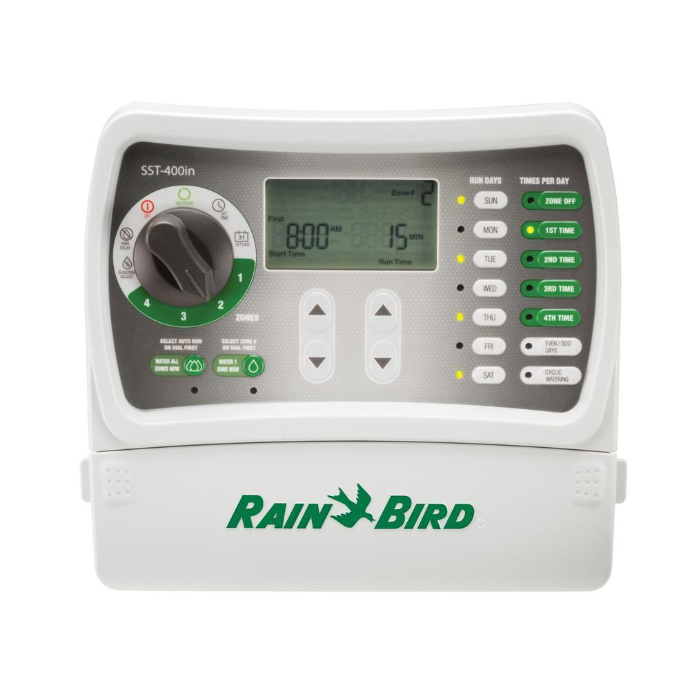 4-Station Indoor Simple-To-Set Irrigation Timer