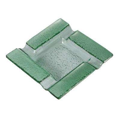 Tanner Square Glass Ashtray