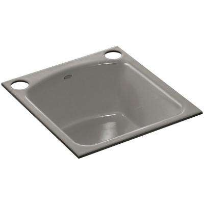 2 Hole Single Bowl Kitchen Sink In