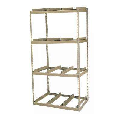 42 in. W x 84 in. H x 32 in. D Steel Commercial Shelving Unit