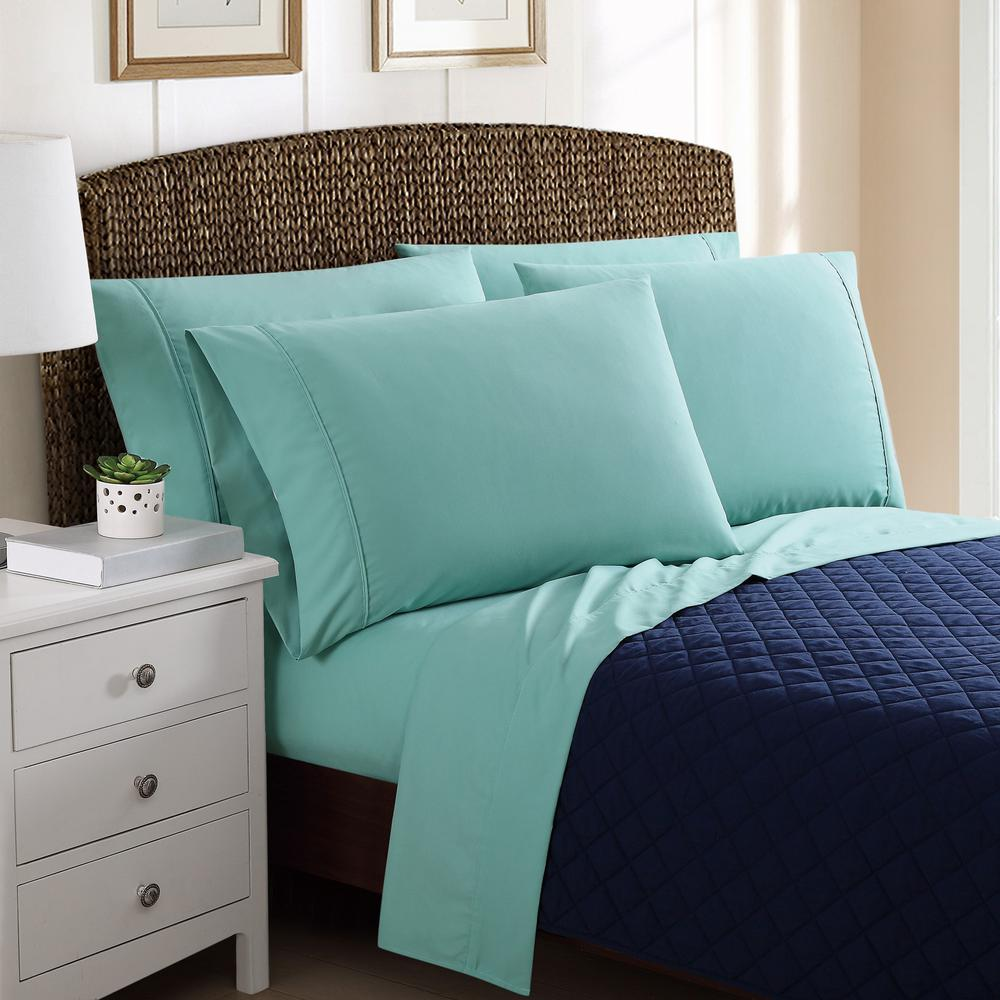 This Review Is From:6 Piece Solid Turquoise Queen Sheet Sets