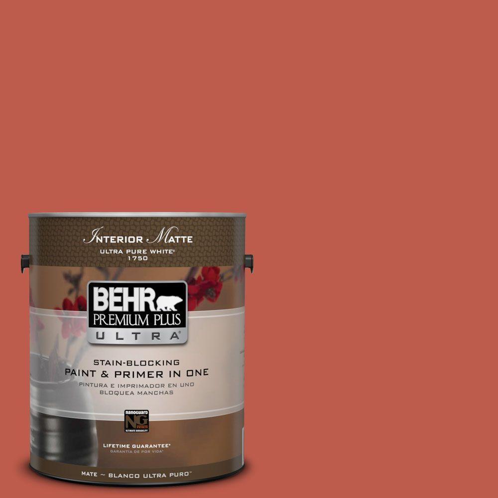 1 gal. #M170-7 Tandoori Matte Interior Paint
